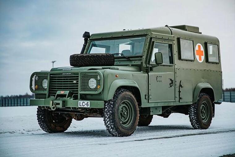 Санитарная бронированная машина Land Rover / autocentre.ua