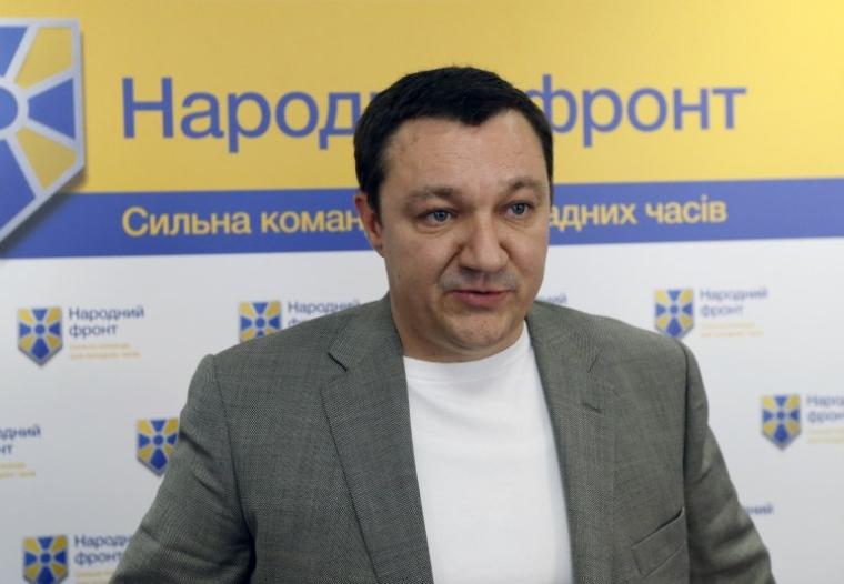 Дмитрий Тимчук во время пресс-конференции