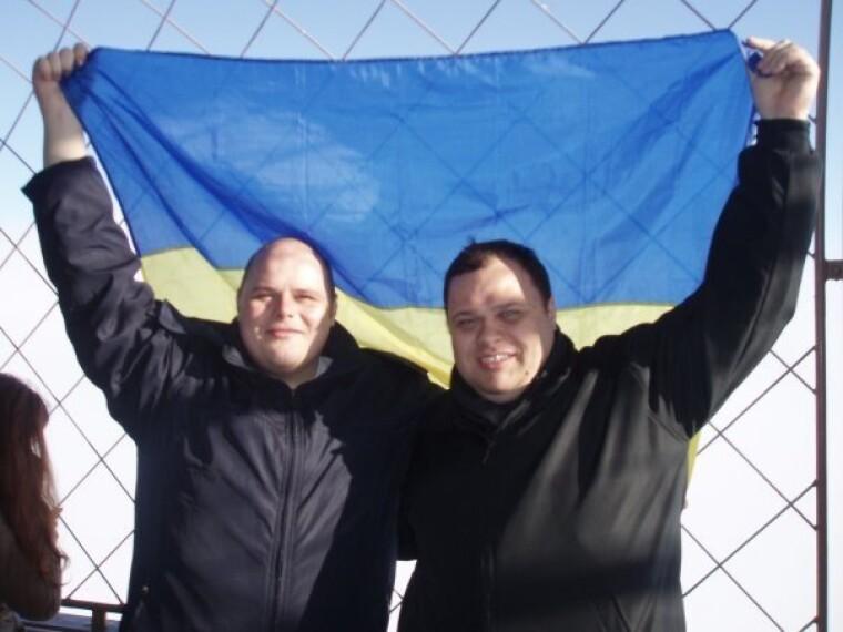 Руслан Стефанчук (справа) с братом Николаем