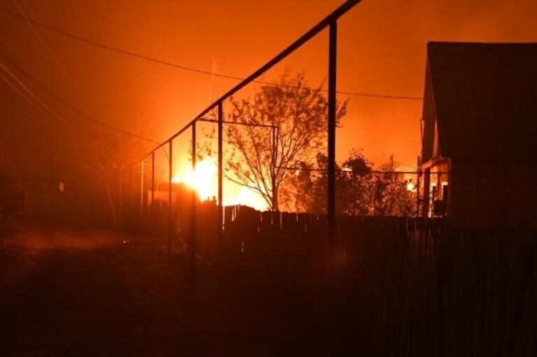 Офіс Зеленського не впевнений у причетності бойовиків до масштабних пожеж на Луганщині