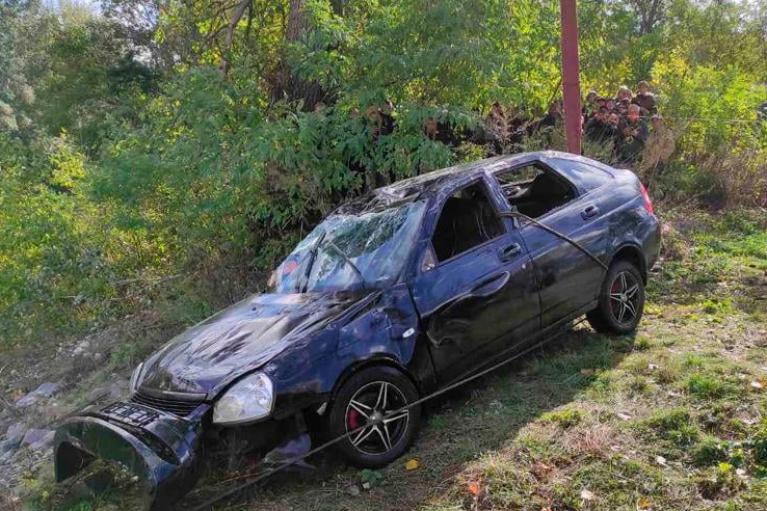 На Полтавщине в автопроисшествии погибли три человека (ФОТО)