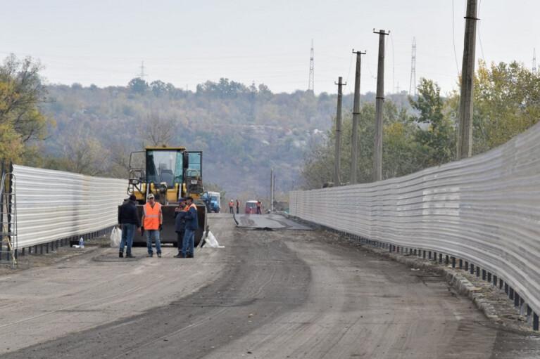 Штаб ООС опублікував фото будівництва нового КПВВ на Луганщині