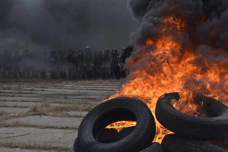 Шины с привкусом асфальта. Начнется ли 21 ноября новый Майдан