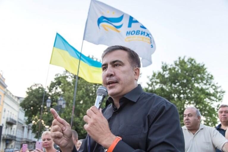 Зеленський позбавив Саакашвілі членства в раді з містобудування