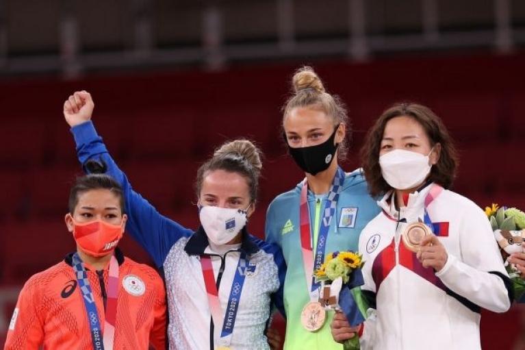 В первый игровой день Олимпиады-2020 Украина финишировала на 19 месте медального зачета