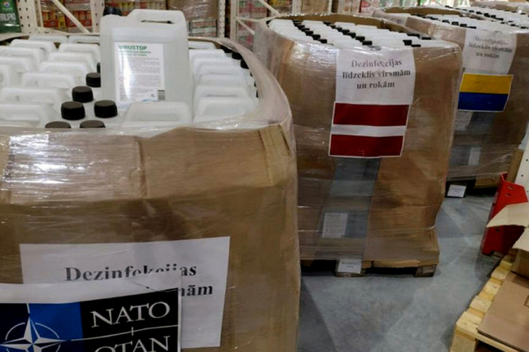 Україна отримала від НАТО партію дезинфекторів для військових шпиталів