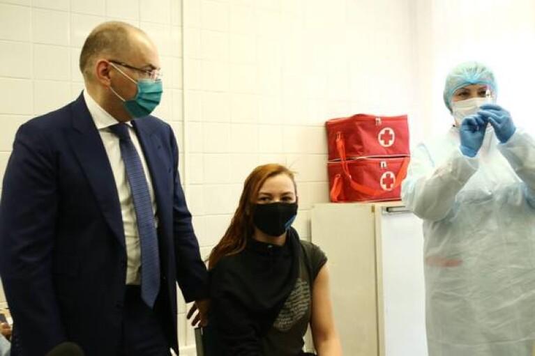 В Україні розпочали вакцинацію олімпійців та паралімпійців