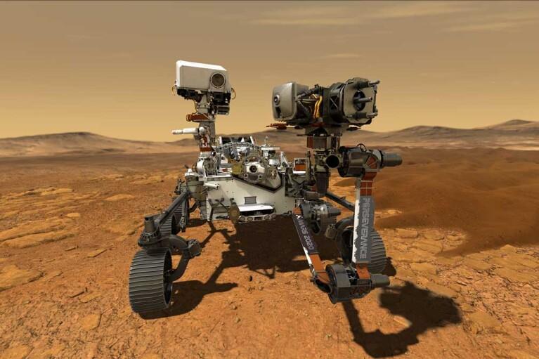 Апарат Рerseverance здобув кисень з атмосфери Марса