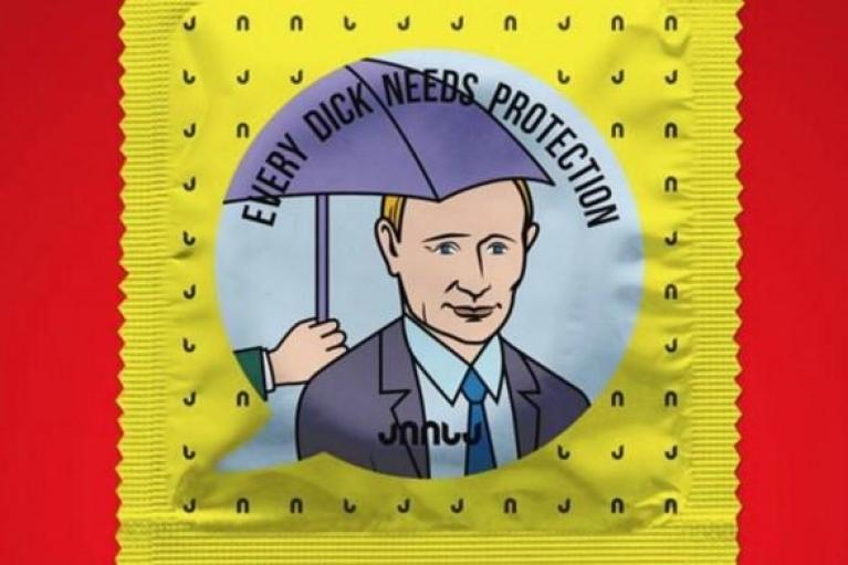 Компанія, що випускає презервативи з обличчями Путіна та Сталіна, виграла справу в ЄСПЛ (ФОТО)