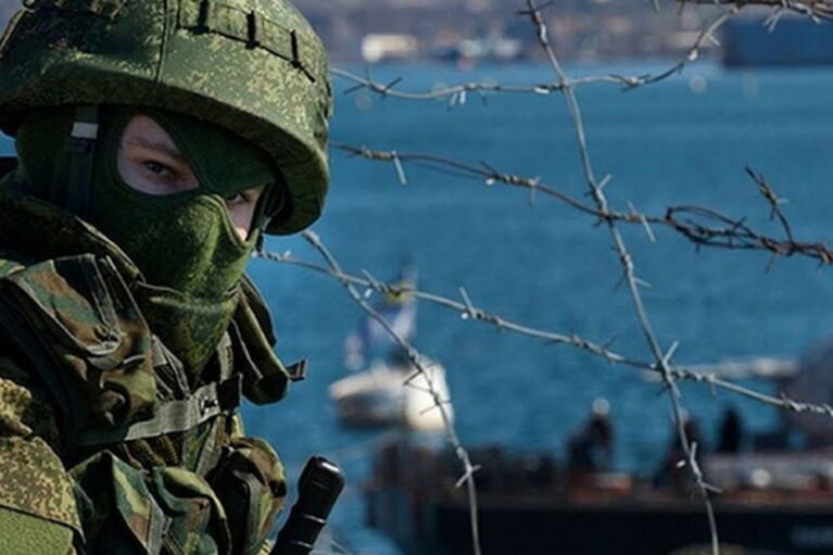 Оккупанты провели в Крыму 20 военных учений за полгода