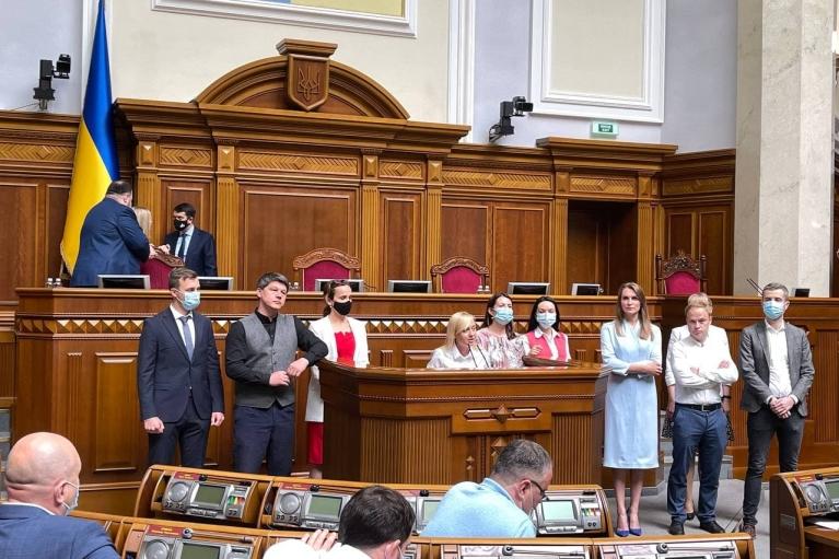 """В """"Голосе"""" надеются разрешить внутрипартийный кризис на съезде в июле"""
