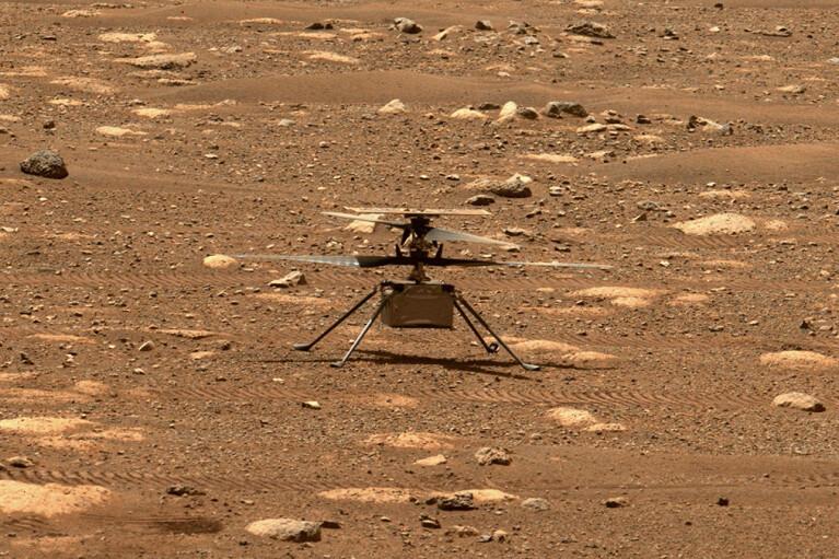 Четвертый полет вертолета на Марсе не состоялся