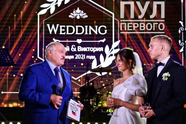 Лукашенко женил внучку (ФОТО)
