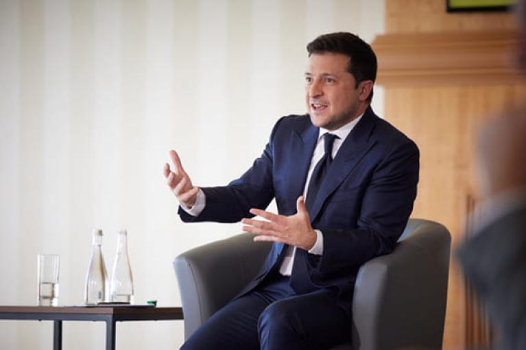 В Украине достаточно газа для потребителей по нормальным ценам, — Зеленский