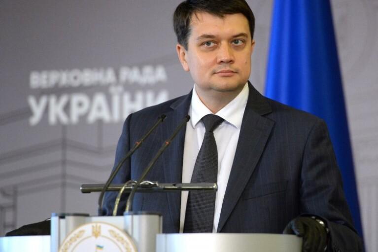 Разумков сказал, когда Рада примет постановление о назначении местных выборов