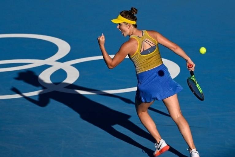 Свитолина вышла в полуфинал Олимпиады в Токио, установив рекорд Украины
