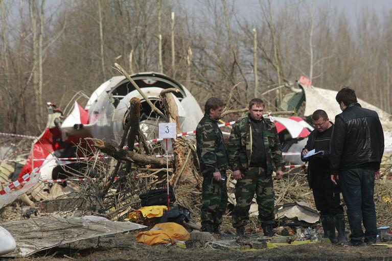 В Польше настаивают, что самолет Качиньского подорвали