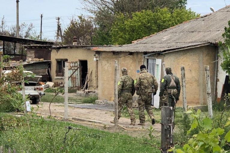 В Крыму число обысков увеличилось почти в 5 раз