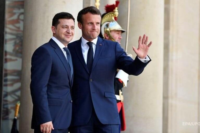 Макрон проведет встречу с Зеленским в Елисейском дворце 16 апреля