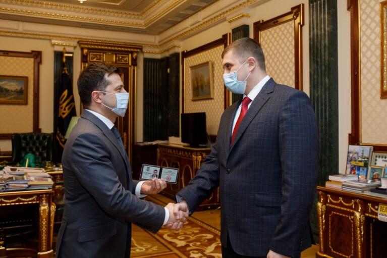 Зеленский назначил главой Херсонской ОГА горного мастера из Донецка