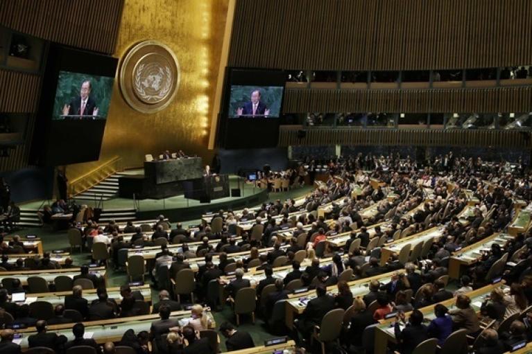 Генассамблея ООН включила украинский вопрос в повестку дня