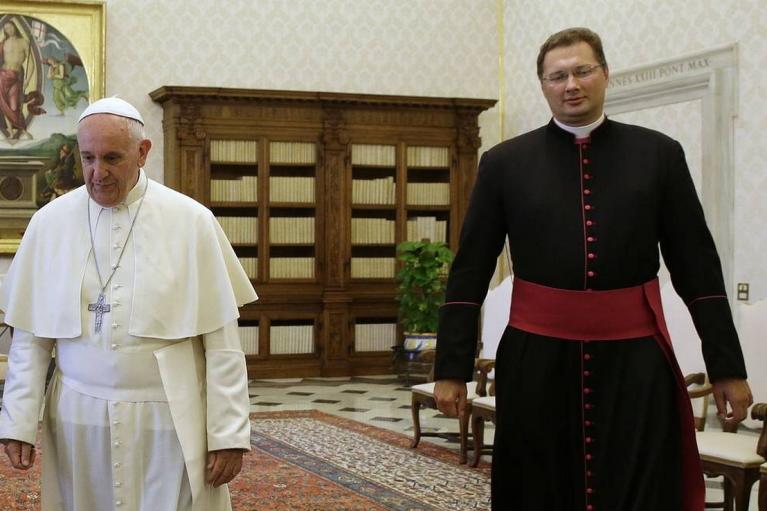 Папа Римский назначил послом Ватикана в Украине литовца