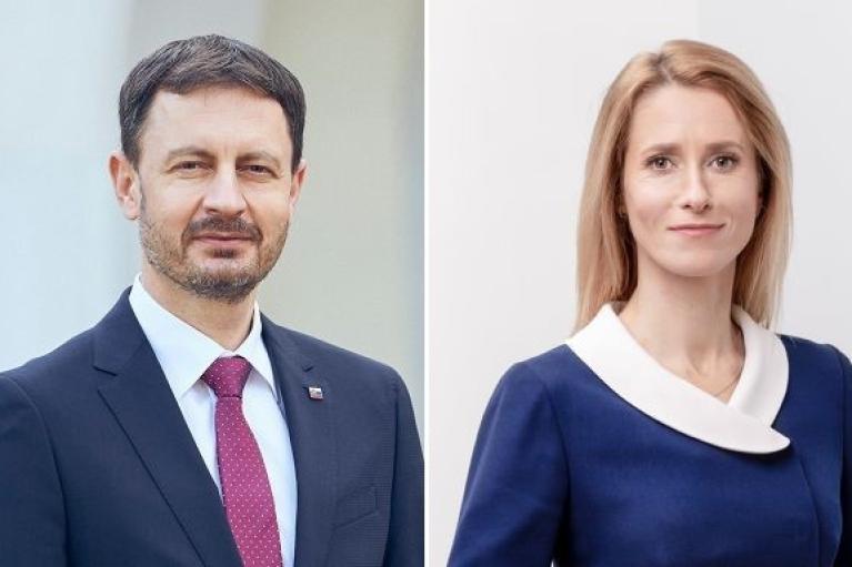 В Україну приїдуть прем'єр-міністри Естонії та Словаччини