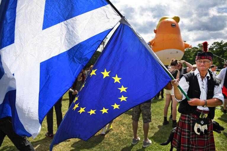 В ответ на Brexit. ЕС обзаведется базой в Шотландии