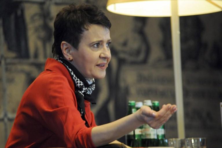 Оксана Забужко: Повну творчу свободу можуть собі дозволити тільки автори, народжені в англомовній культурі