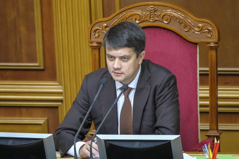 Разумков созвал второе внеочередное заседание Рады: обнародована повестка дня