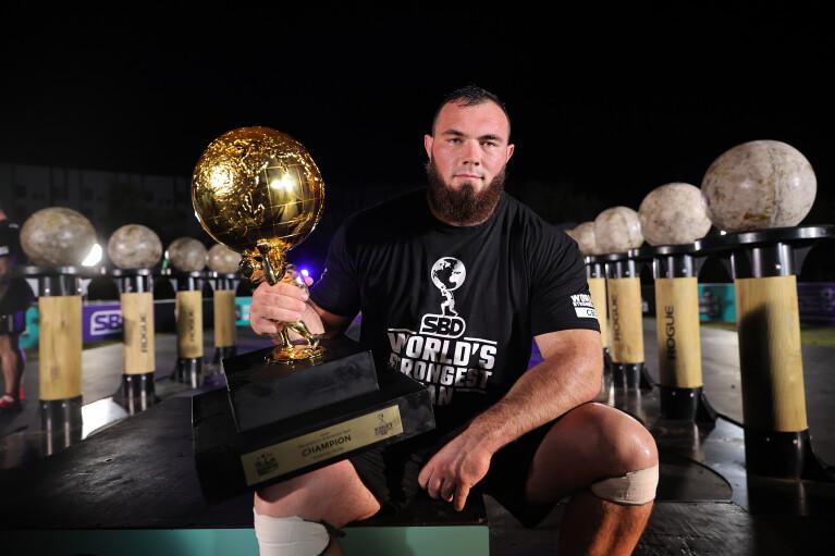 Найсильніша людина світу Олексій Новіков: Не поїду на турніри в Росію, поки триває війна на Донбасі