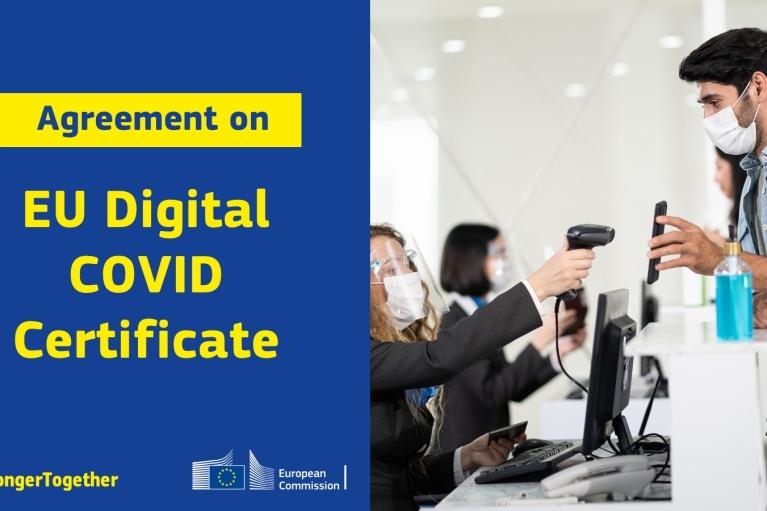 У Євросоюзі зловмисники викрали електронні ключі від COVID-сертифікатів