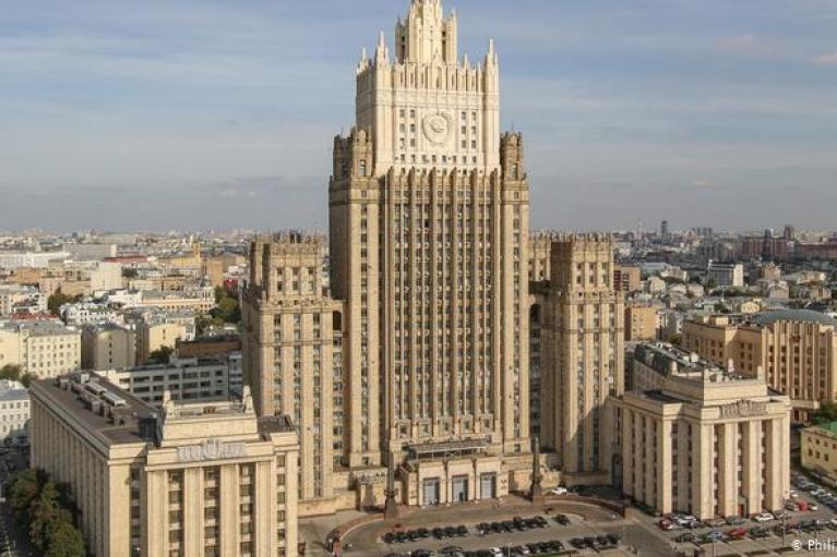 """Россия официально объявила США и Чехию """"недружественными странами"""""""