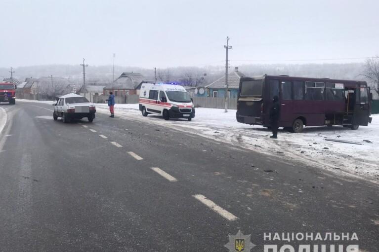 На Харьковщине произошло смертельное ДТП с участием рейсового автобуса (ФОТО)