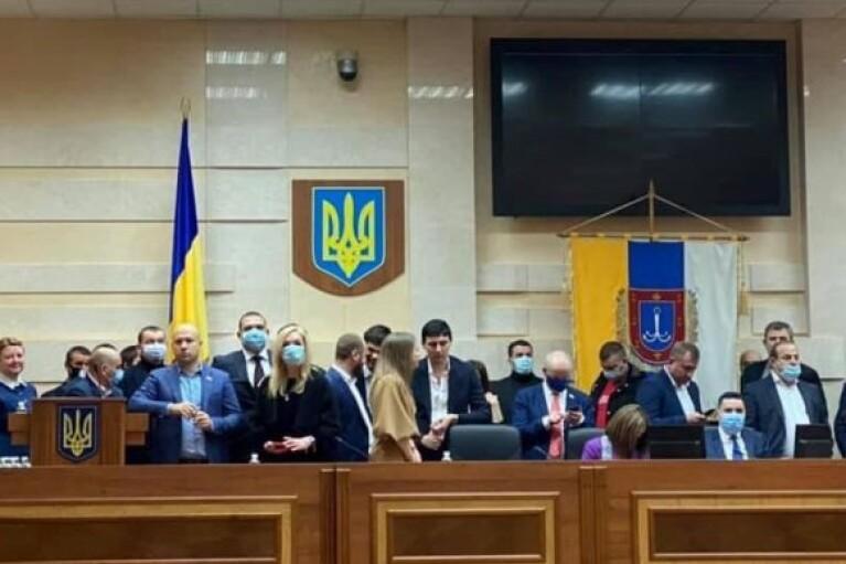 ОПЗЖ і партія Шарія об'єдналися заради блокування Одеської облради (ВІДЕО)