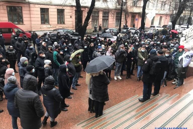 "На Буковине предприниматели вышли с протестом против ""красного"" карантина"