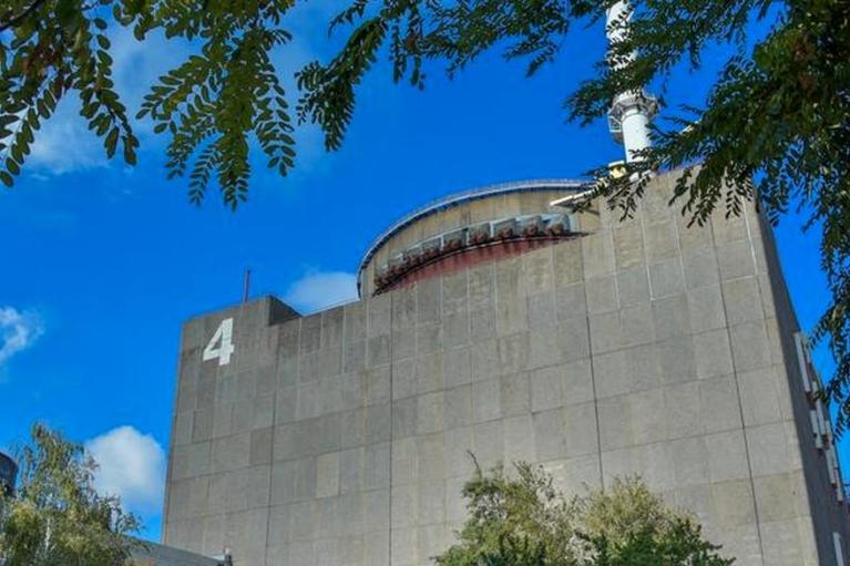 Запорожская АЭС вывела четвертый блок в резерв