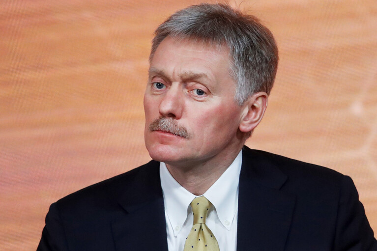 Пєсков про відповідь на санкції США: Все залежатиме від рішення Путіна