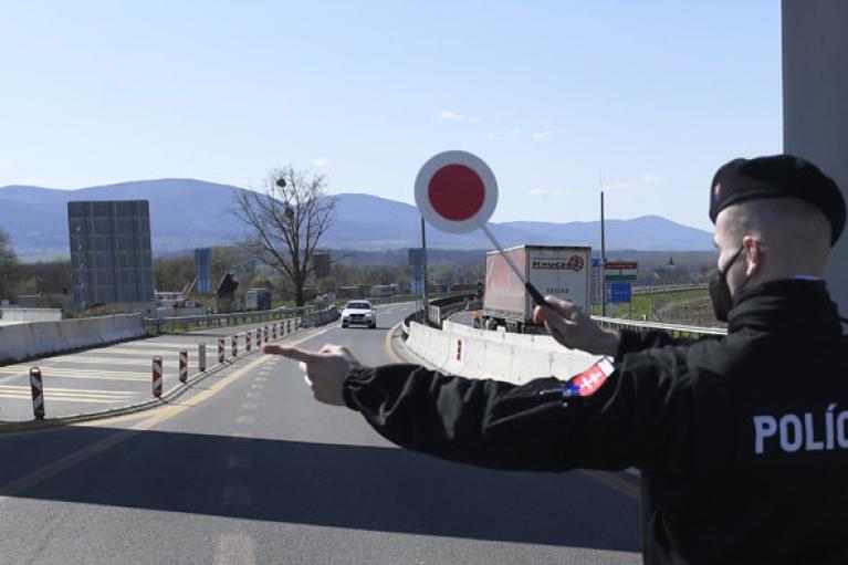 Словакия сняла ограничения на границе с Украиной