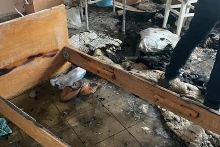 Озвучена возможная причина пожара в больнице Черновцов