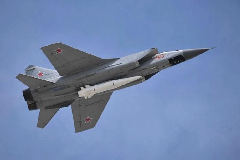В РФ заявили, что перехватили американский самолет-разведчик