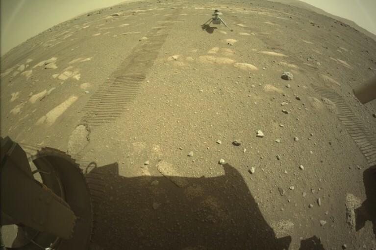 Вертолет NASA совершил успешную посадку на Марсе (ФОТО)