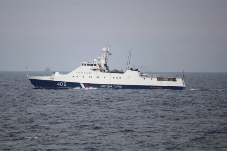 Российские корабли у Одессы препятствовали совместным обучением Украины и США (ФОТО)