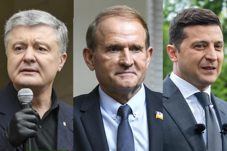 Сюрпризи партійних рейтингів. Як Порошенко, Зеленський і Медведчук поділять країну
