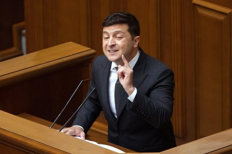 Послание Зеленского: Путина нет, Порошенко во всем виноват, а я цаца