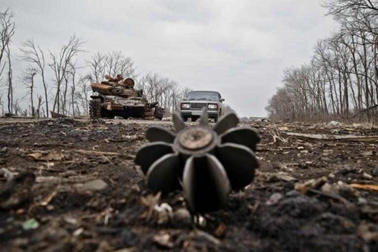"""Боевики обстреливали украинские позиции из """"тяжелых"""" минометов"""