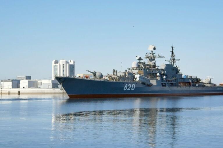 Бронзовый ужас. Как с российского эсминца украли гребные винты