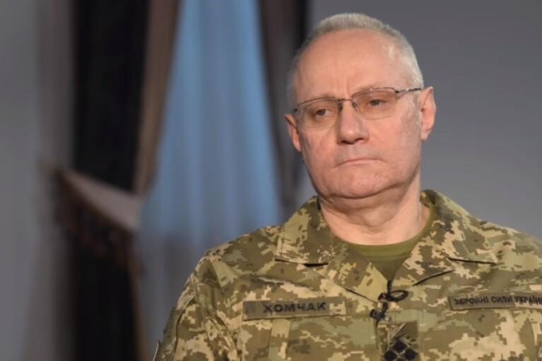 Хомчак просит не создавать отряды добровольцев на местах
