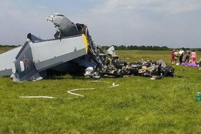 У Росії розбився літак з парашутистами: 9 загиблих