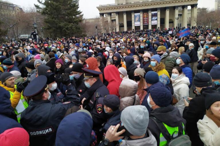 Протести в Росії: затримано більше 1,5 тисяч осіб